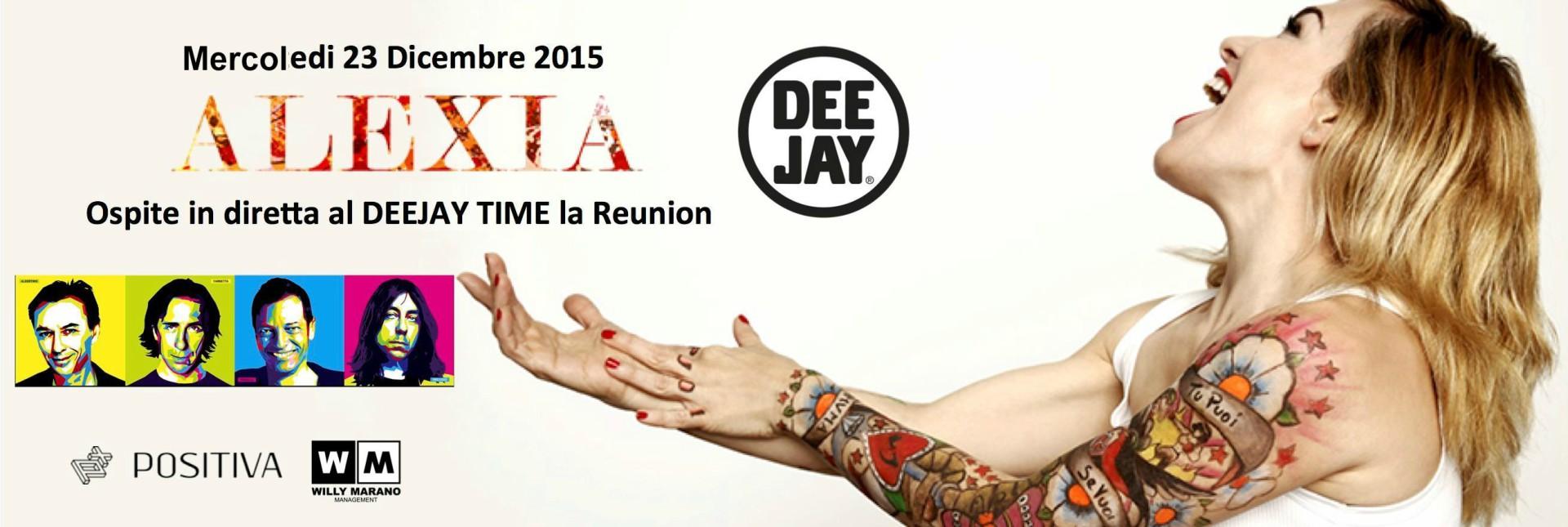 Alexia ospite al Deejaytime Reunion